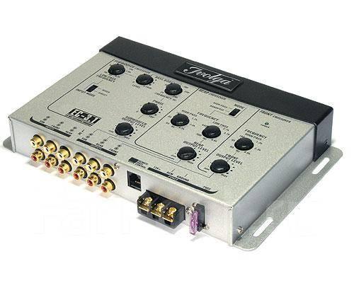 IVOLGA ЕС - 3.1 (New) 3-полосный универсальный электронный (активный) кроссовер с выносным регулятором уровня сигнала...