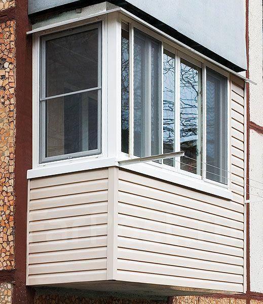 Балкон по ключ slidors. - галерея работ остекление - каталог.