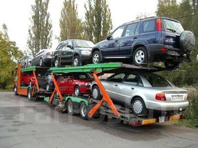 Доставка автовозами.