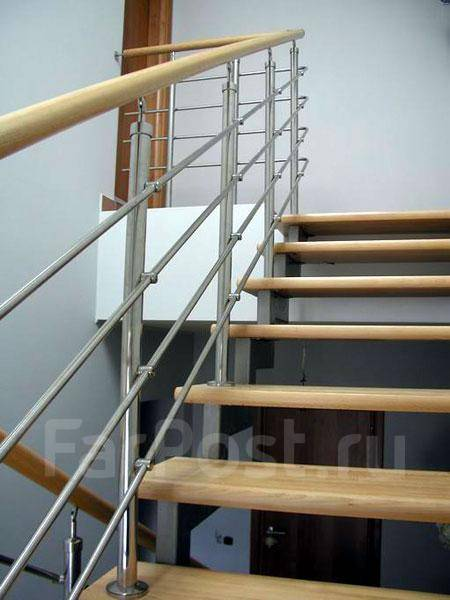 Лестницы - изготовление и монтаж .