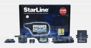 Автосигнализация StarLine B9 Dialog CAN F5 V200.