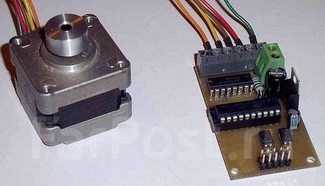 Шаговый двигатель микроконтроллер управления