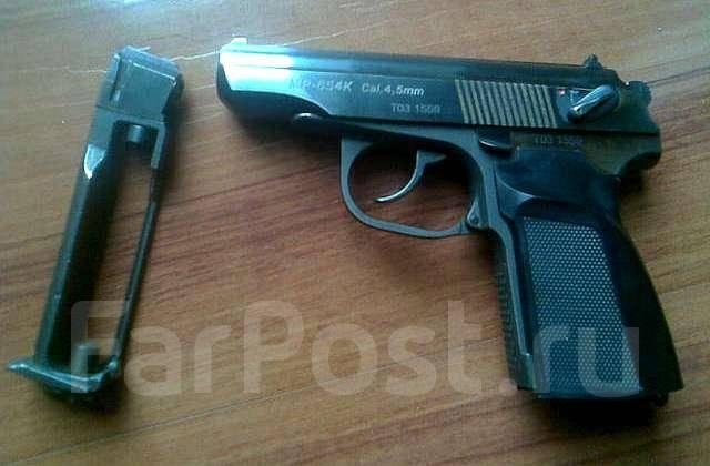пистолет мр 654к: