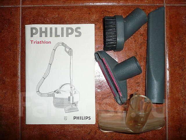 Моющий пылесос philips triathlon б у
