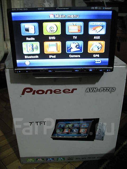 Автомагнитоллу в упаковке новую PIONEER AVH-P7760 цена 35000 тенге.  Детальное описание товара 2DIN, Сенсорный экран...