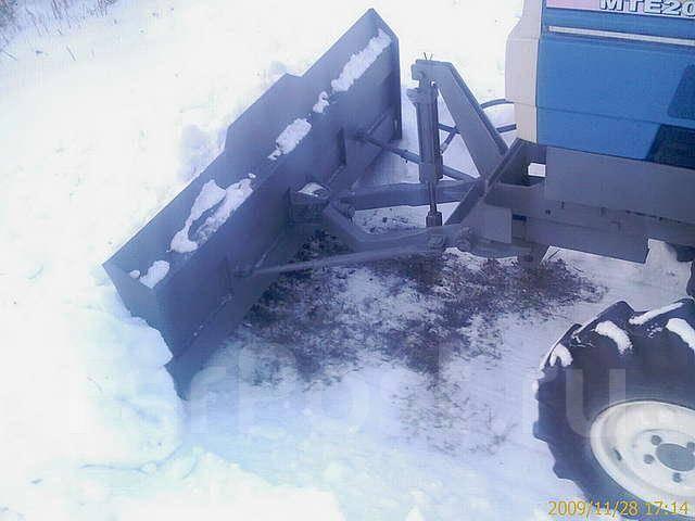Отвал для чистки снега своими руками