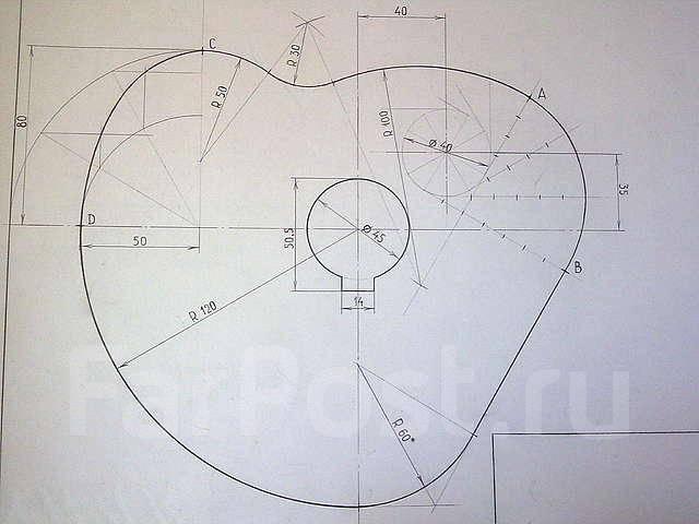 Начертательная геометрия.