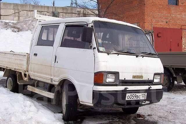 Mazda Bongo Brawny. механика, задний, 2.0, дизель