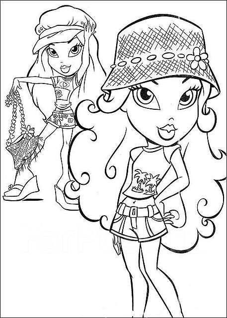Раскраски для девочек русские народные сказки