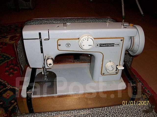 Швейная машина подольск фото