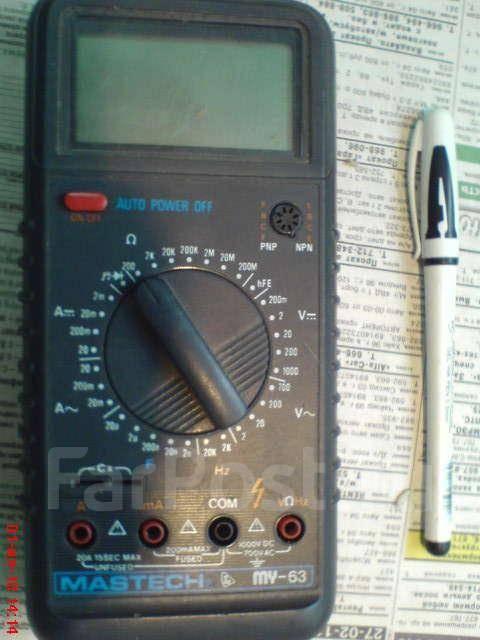 мультиметр Mastech MY- 63