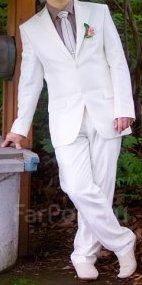 Мужской костюм цвета айвори 2