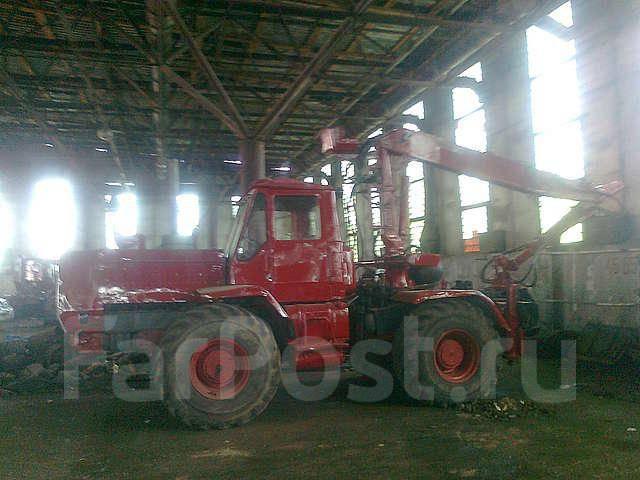 Трактор Т-150 с манипулятором для погрузки леса - Т-150, 2008 ...