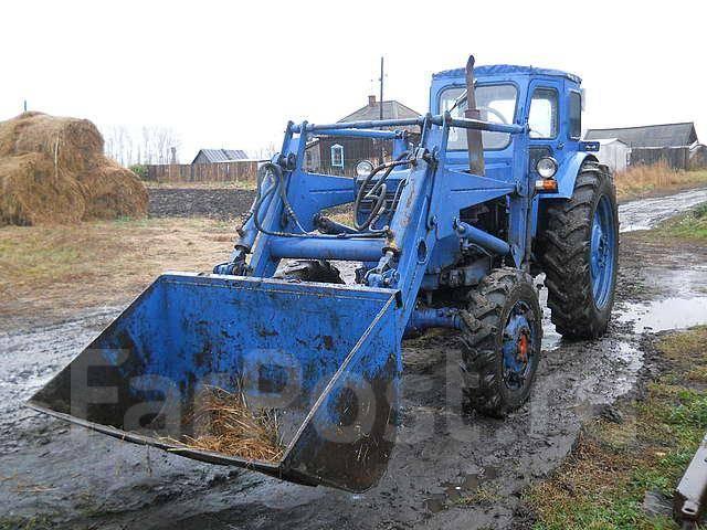 Трактор с куном фото