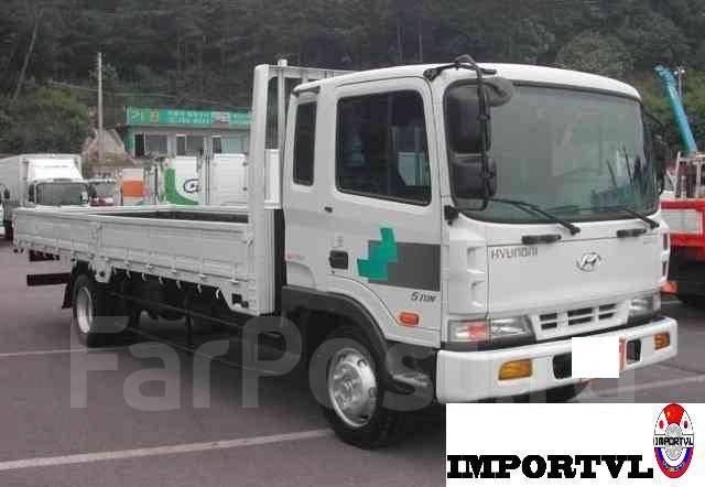 Hyundai HD120 бортовой грузовик.