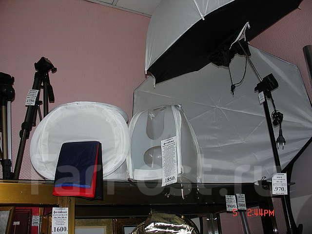 Фототовары в ТЦ 'Зелёные кирпичики' + cтудийное оборудование