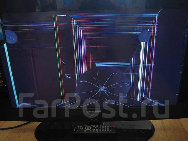 Как сделать экран на жк телевизоре