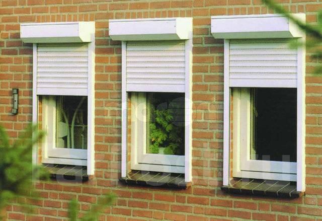 Как установить рольставни на окна своими руками