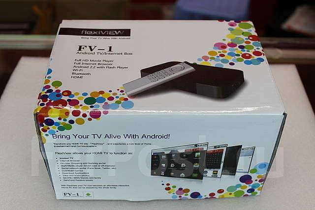 Приставка. Android Internet TV Box FV-1 – ТВ+интернет