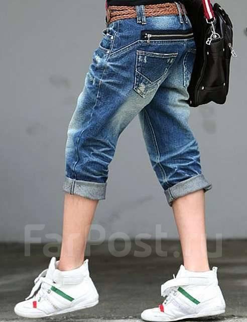 женские джинсовые бриджи из Южной ...