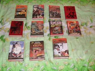 """10 книг по цене одной! """"Чёрная кошка"""" взрослые книги - детективы"""