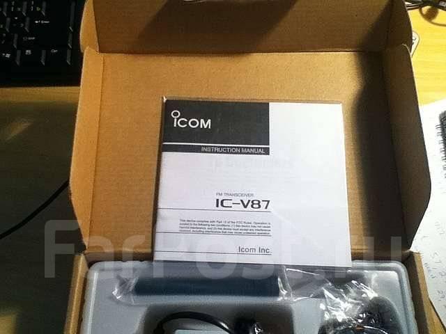 скачать рации icom ic v87