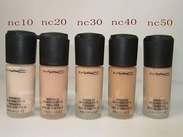 MAC минеральный тональный крем SPF15 (NC40) - Косметика во ...