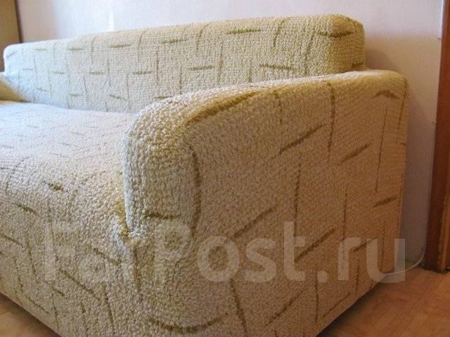 Чехлы на угловой диван фото