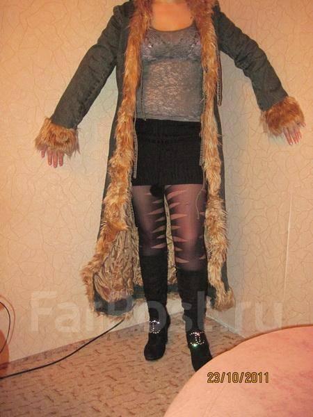 Джинсовое пальто -