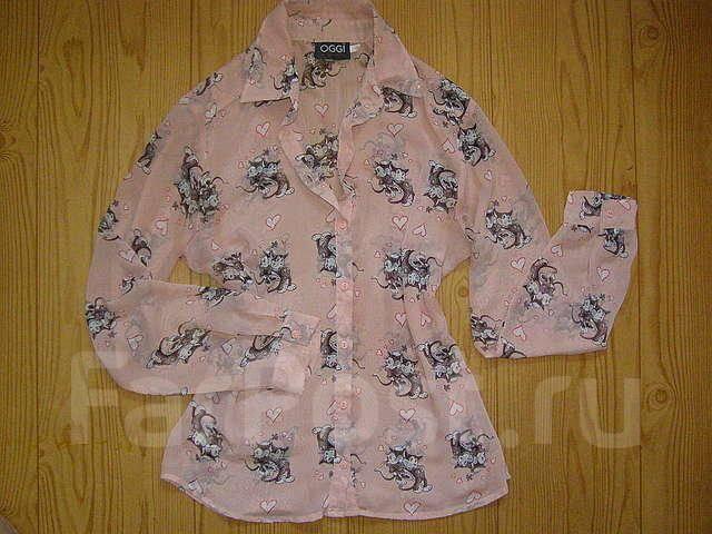 Блузка с кошками