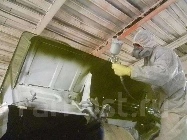 """Шиномонтаж пескоструйно ремонтно малярная база """"Трион"""" Ангарск"""