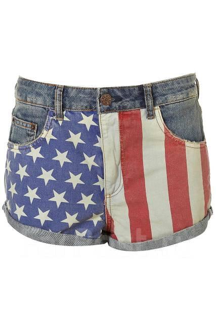 джинсы с американским флагом