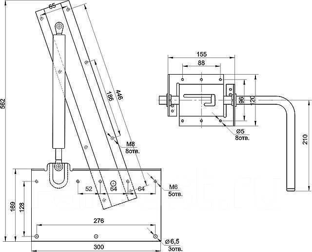 Механизмы для кроватей трансформеров своими руками