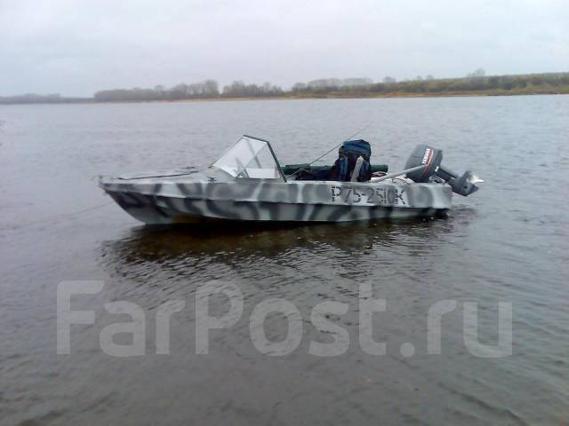 Лодка Романтика + Ветерок 8Э.