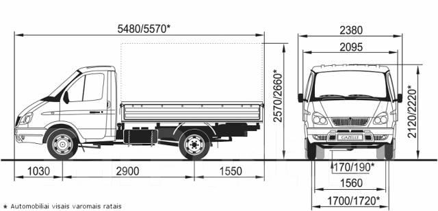 """ГАЗ-33027 является полноприводной модификацией автомобиля ГАЗ-3302  """"ГАЗель """".  Машина оснащена передним ведущим мостом..."""