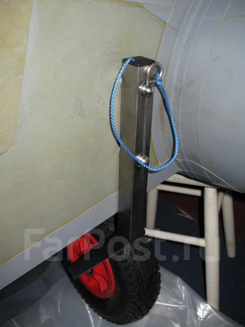 Как сделать тележку к лодке пвх