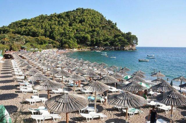 Черногория будва пляжный отдых
