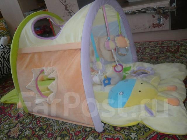 Развивающий коврик для ребенка видео