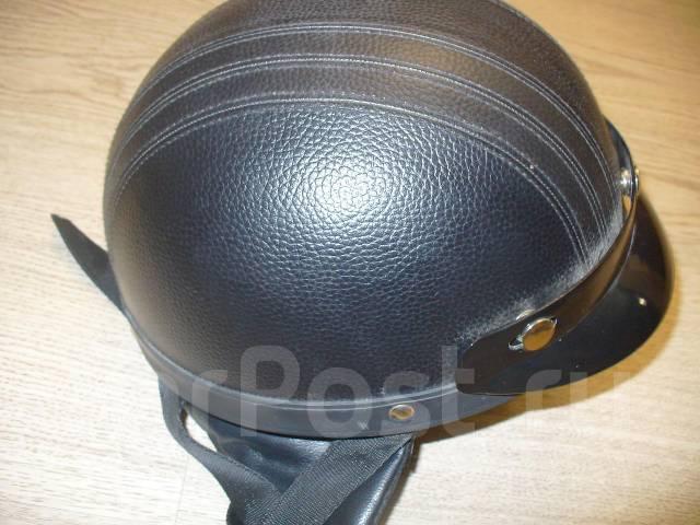 Обшиваем шлем кожей