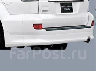 Порог пластиковый. Toyota Land Cruiser Prado, VZJ120. Под заказ