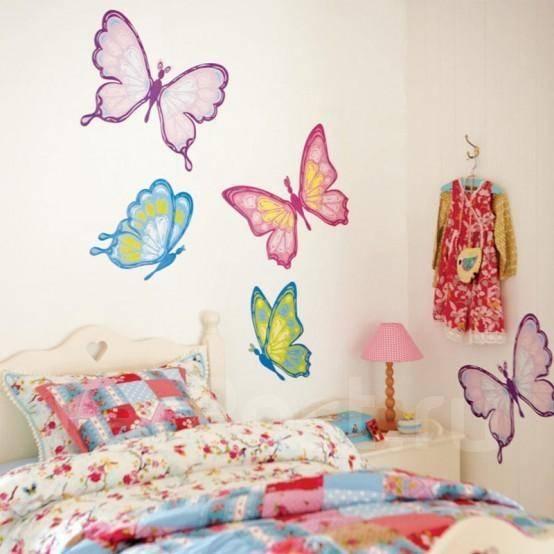Дизайн стен в детской своими руками