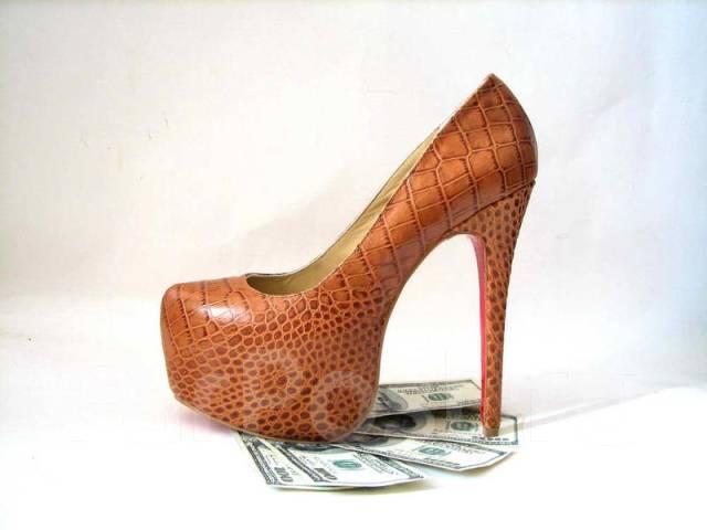 Мужские классические туфли из змеиной кожи, модель