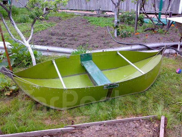 Одноместную лодку своими руками