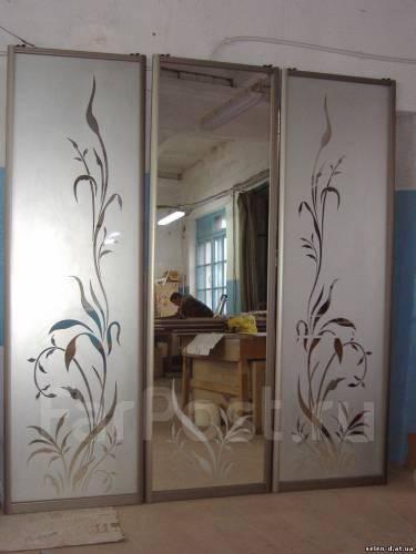 Пескоструйные рисунки на стекле