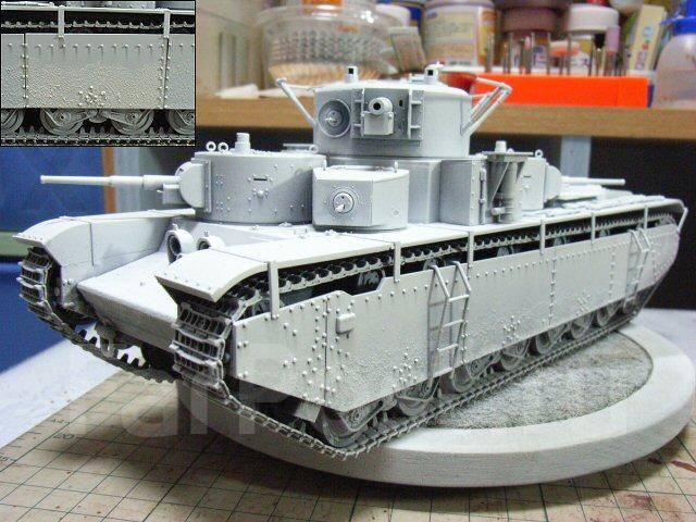 Продам модель танка Т-35 ICM 1/35 - Моделирование во Владивостоке
