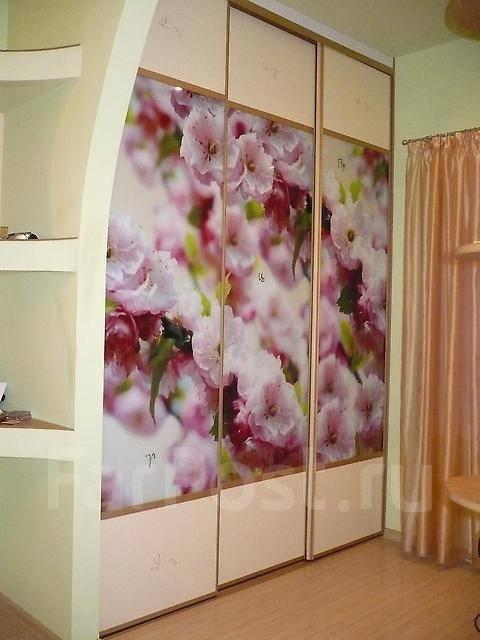 Фотообои на шкаф
