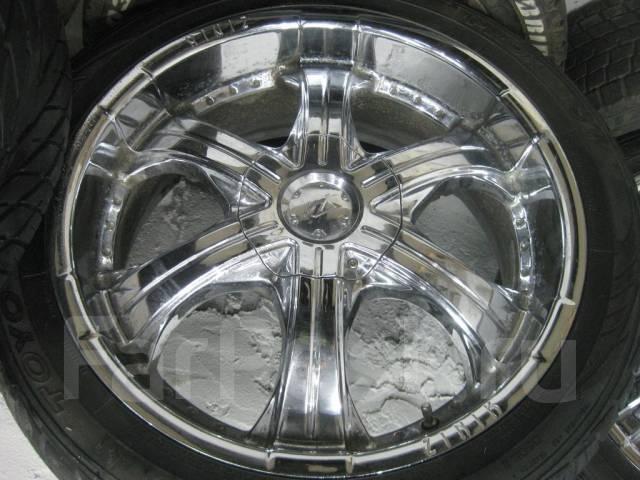 Крутой хром Zinik + шины Toyo 275/40/20 (787). 8.5x20 5x120.00 ET15