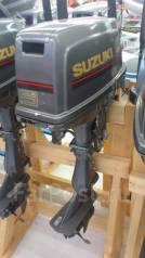 Suzuki. 5,00л.с., 2х тактный, бензин, нога S (381 мм), Год: 1995 год