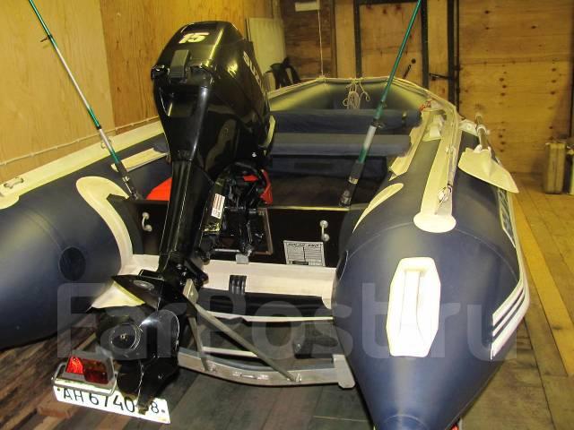 транспортировка надувной лодки с мотором