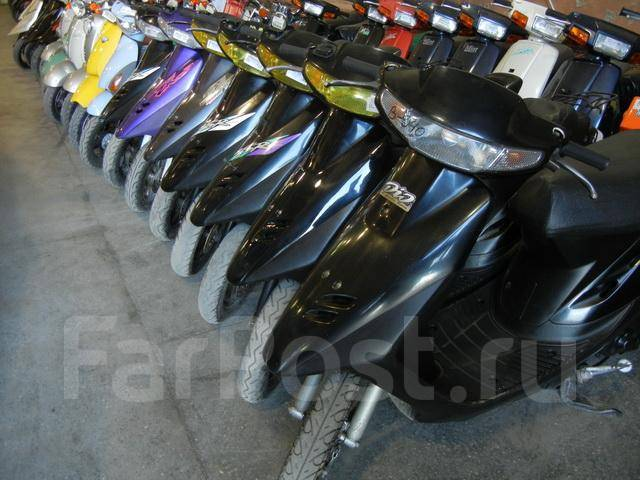 Как заказать скутер из японии самому